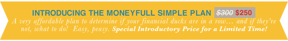 Introducing the Moneyfull Simple Plan